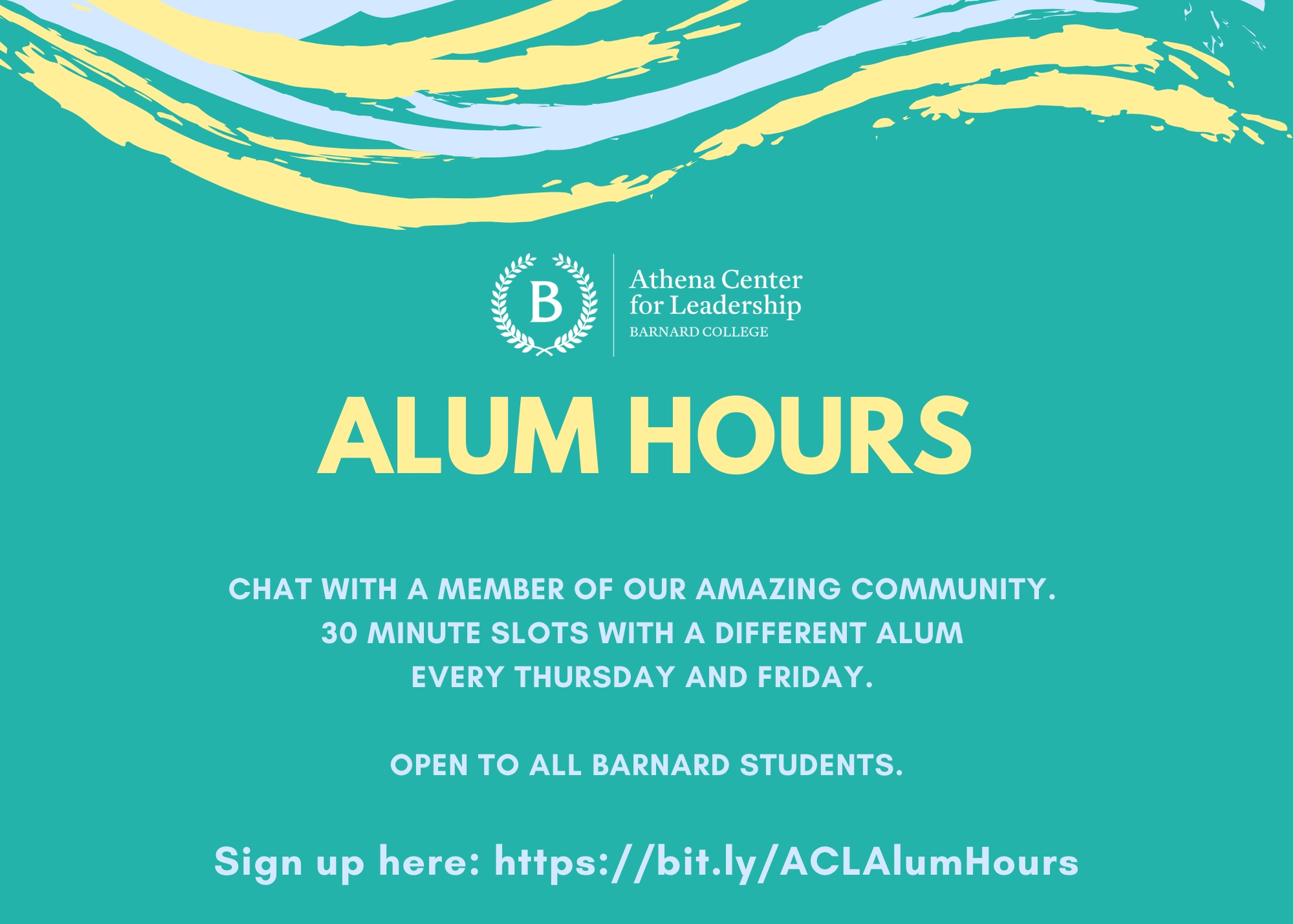Alumnae Hours Flyer
